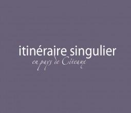 Design graphique de l'»xposition «Itinéraire singulier en pays de cîteaux», au Musée de Nuits-Saint-Georges