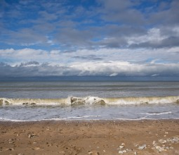 Paysage marin : Etretat et Deauville